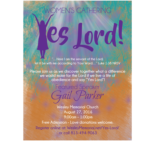 Yes Lord Postcard Design